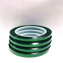 High Temperature Sandblasting High Temperature Masking Polyester Film Green Tape