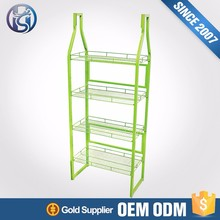 Metal display stands store shelves for liquor bottle HS-ZS2