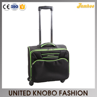 4 wheel spinner carry-on laptop trolley case luggage travel bag