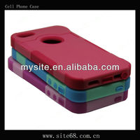 Celular Phone Combo Case Covers for Apple iphone 4