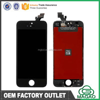 Cell phone LCD + Touch Screen for iphone 5g black