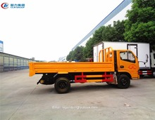 China light duty small 4000kg 5000kg 5 ton common goods cargo truck price for sale in Africa