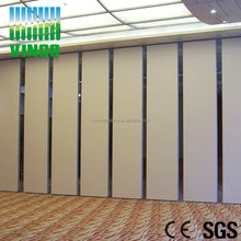 Construction Material Artistic Partition Wall Wooden Sliding Door , Dressing Room Sliding Door