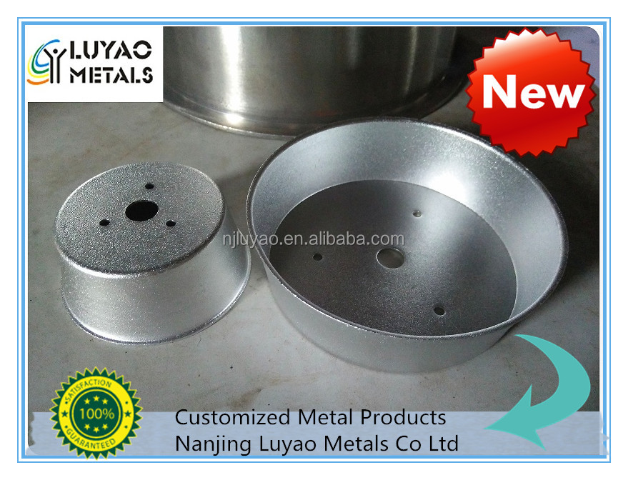 High Quality Stamping Parts by Steel Stamping and Spinning Process