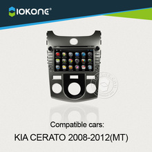 10years manufactory for android car audio system for KIA Cerato 2008 to 2012 Manual Transmission