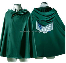 Ecoparty Attack on Titan Anime Shingeki no Kyojin Cloak Cape Clothes Halloween Cosplay