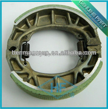 China Best quality CG125 motorcycle brake shoe