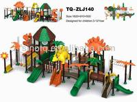 2014 newest kids outdoor playground with swing and climbing net