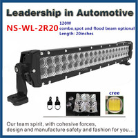 Auto lighting quad hot sale ATV mini Jeep 17 inch led light bar offroad