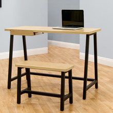 Excellent quality simple design wooden table long wooden study table