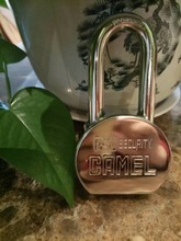 High Quality Solid Hardened Stainless steel master lock padlock with Chromed Finished