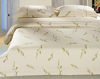 100% cotton wholesale comforter printed hotel bedding set 200T