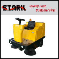 SDK1360 high quality outdoor parking lot road sweeper for sale