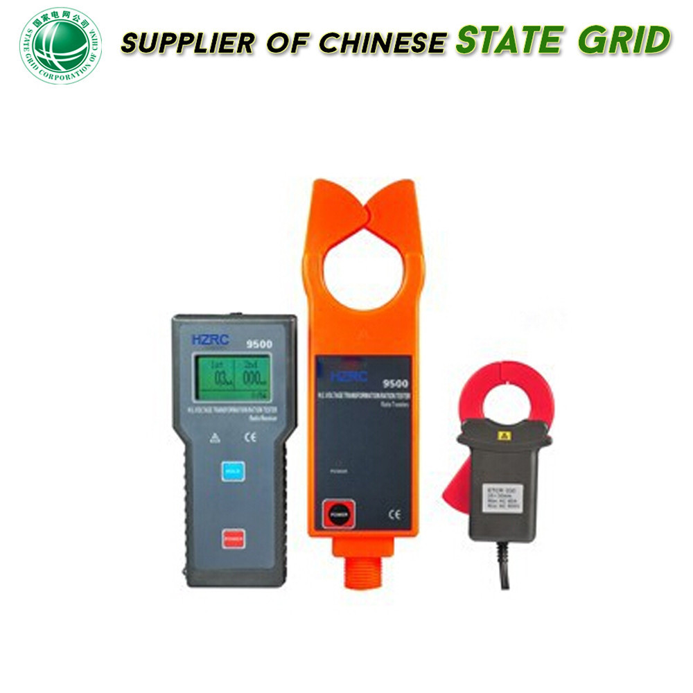 clamp meter HZRC9500 Low voltage clamp ammeter portable leakage current meter