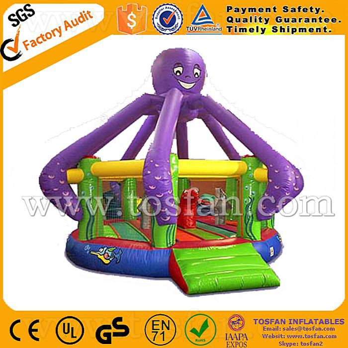 inflatable octopus bouncer with high quality A1120