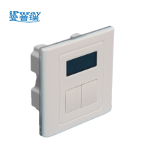 Electric light timer control switch smart home touch wall switch with LCD display