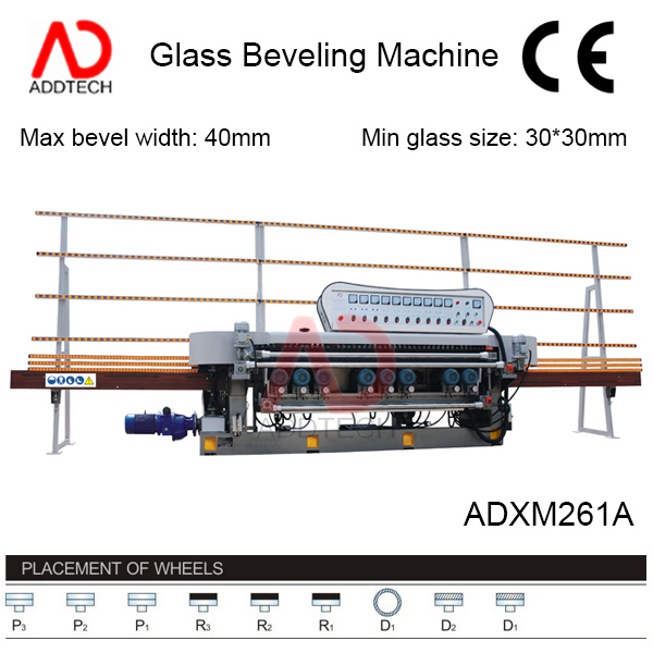 bavelloni glass mirror grinding machine ADXM261A