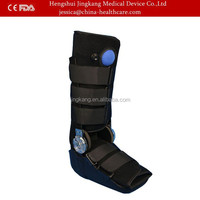 Orthopedic rom hinged walker brace, adjustable walkers orthopedic ankle boots , cam air soft walker fracture boots