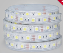 DC12 Indoor outdoor lighting high bright smd 5050 rgb smd 5m/roll led strip