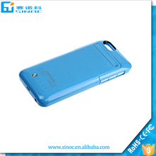 Li-polymer external 3500mah battery case for iphone 6 4.7 , for iphone 6 battery case power bank charger