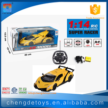 5 Channels 1/14 Variable Speeds RC Car For Kids Big Wheels RC Electric Car With EN62115