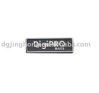 """DigiPRO"" Metal tag use for bag (size:29*9*2mm)"