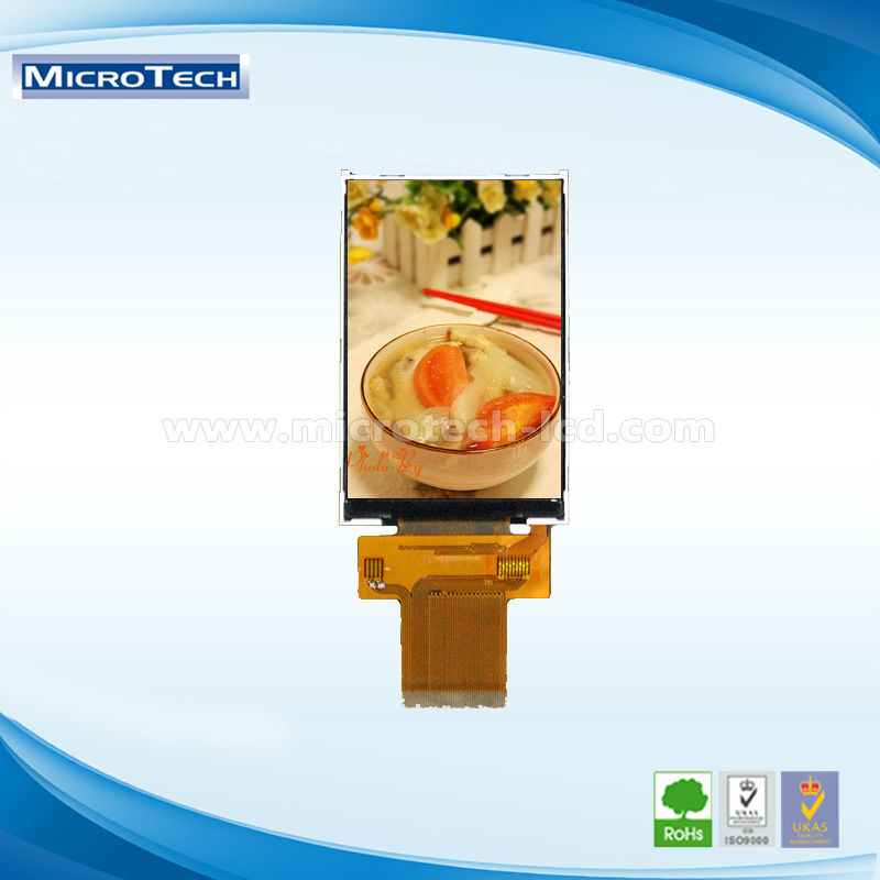 A Style with capacitive touch screen 3.5 inch resolution 320X240 RGB TFT LCD