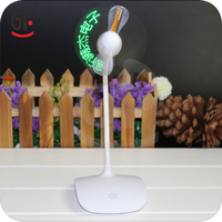 China Supplier Birthday Supplies Rechargeable Standing Programmable USB Mini Fans