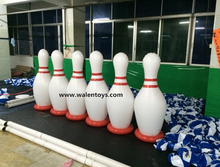 Hot sale Giant inflatable bowling pin,Inflatable Bowling Ball toy