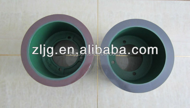 10'' SBR rubber rolls for paddy husker,vulcanized rubber roll