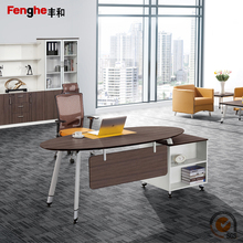 Modern office urniture table executive ceo desk design wooden mdf computer table