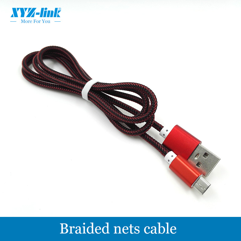 Colorful Nylon Braided usb cable sync & charger usb data cable for iPhone 6 6S