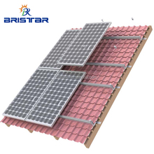 High Quality Aluminum PV Ceramic Rooftop Structures Solar Panel Tile Roof Mounting Brackets