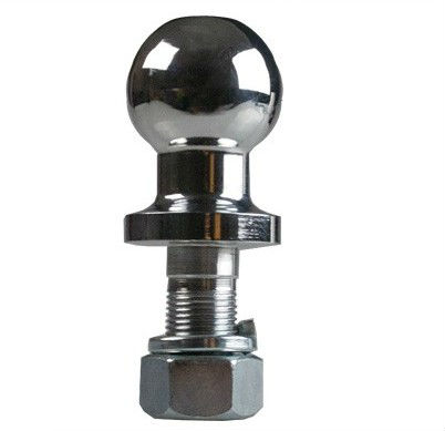 "2"" diameter forging ball shorter tube tri-ball hitch ball mount"