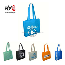 Factory profession supply folded non woven shopping bags