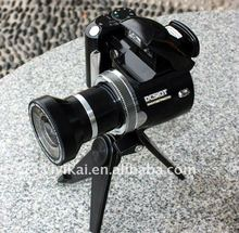 Professional Slr type 12MP Digital camera with 2.4 inch TFT screen and wide angle lens from OEM&ODM factory