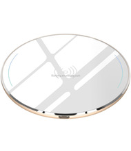 Wireless Charger Aviation Aluminum Fast Charging Pad for iX / 10 / 8 / 8 Plus for Sam