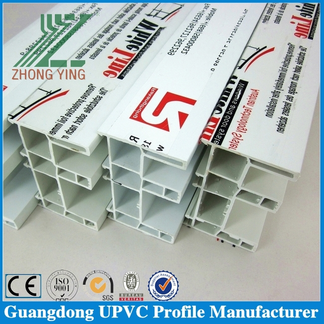 Guangdong direct manufacturer offer Upvc window profile accessories