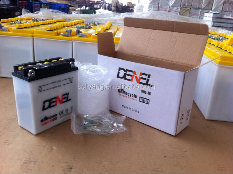 12V 5AH LEAD ACID BATTERY FOR QIANJIANG MOTOR 12N5-3B