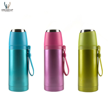 2017 new bullet shape stainless steel double wall vacuum flask