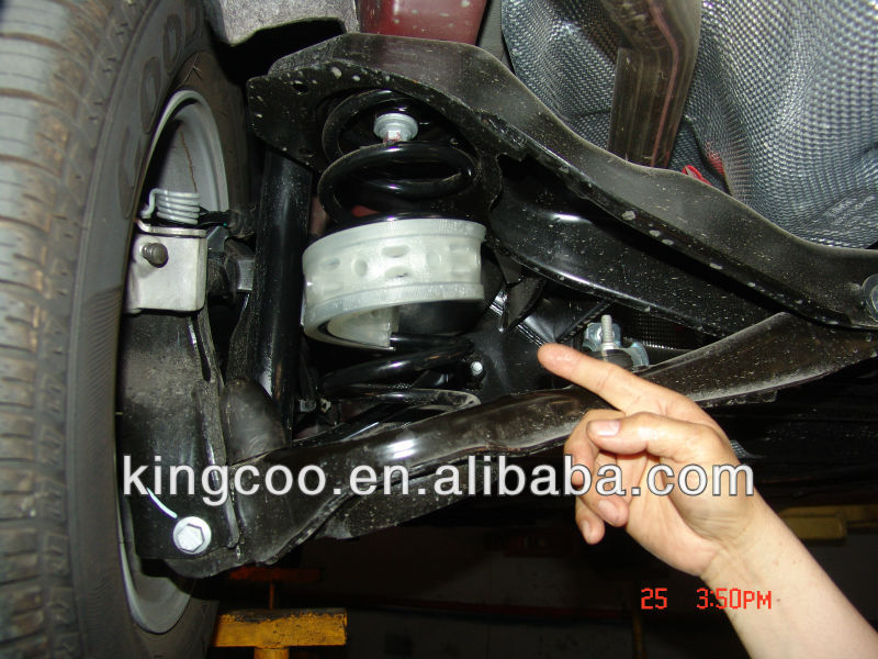 Damping spring protection rubber ring for car shock absorber