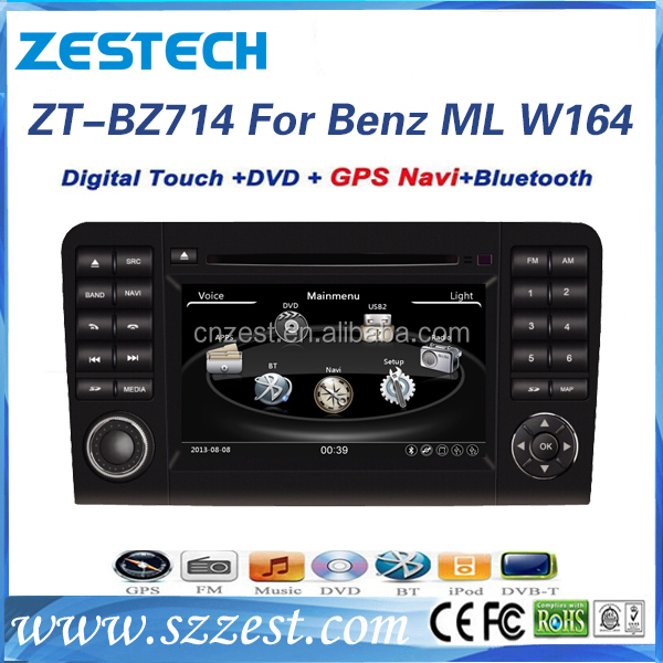 Wince system 7inch car dvd for Mercedes Benz Mercedes Benz ML W164 GL X164 05-12 ML300 ML350 ML450 ML500 GL320 GL350 GL420 GL450