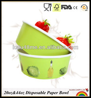 20oz And 44oz Disposable Paper Pasta Bowl