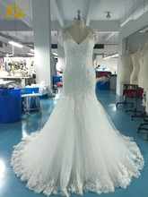 Whole Alibaba Lace Applique Mermaid Wedding Dresses Pictures of Latest Gowns Designs