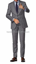 Tailor Made Classic and Elegant grey herringbone Men Suit