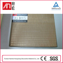 3D Wall Panel For Carving Decorative Aluminum Foil Mdf With Protector Flim