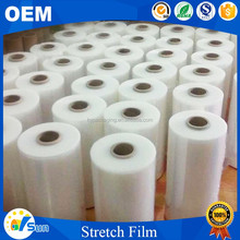 Popular Hand Packing Use Water-proof Transparent Blow Pe Stretch Film