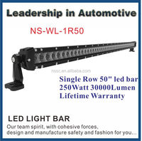 50inch 52inch Led Light Bar 250W Lighting Cars Auto Lighting System For Engineering Vehicles,Special Vehicles