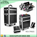 Trolley tool box aluminum hairdressing case