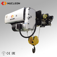 NUCLEON European electric steel wire rope hoist price